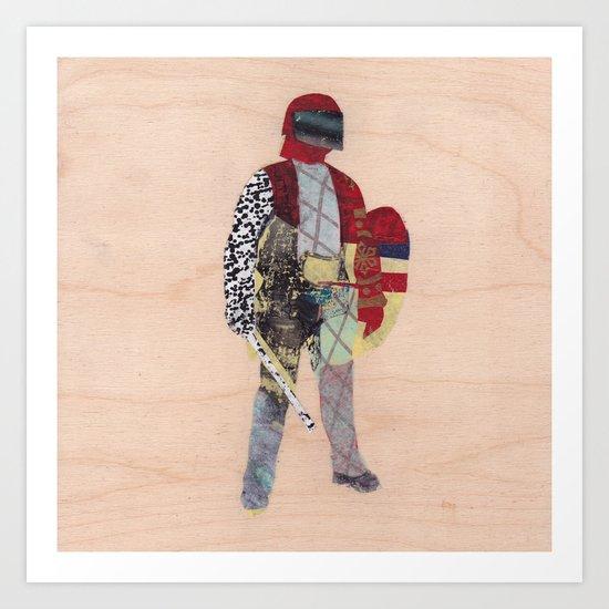 Defender Art Print