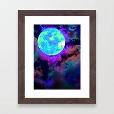 Moonshroud Framed Art Print