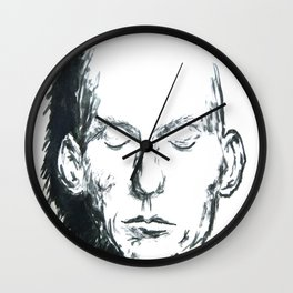 Death Mask  Wall Clock