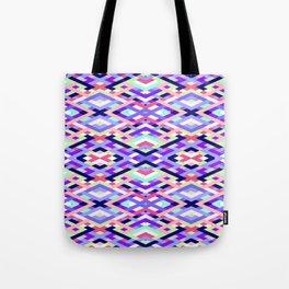 Smart Diagonals Coral Tote Bag