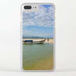 Vietnam Coastal Vista Clear iPhone Case