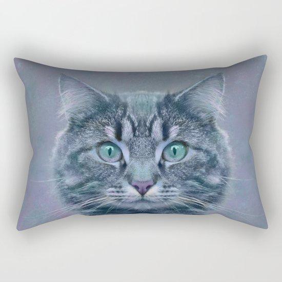I'm just a cat Rectangular Pillow