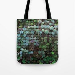 Field of Succulents Tote Bag