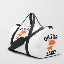 Oh For Fox Sake Duffle Bag