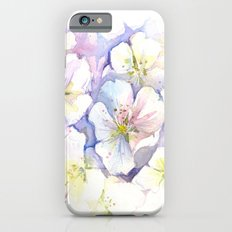 Cherry Blossoms Flowers Spring Floral Slim Case iPhone 6s