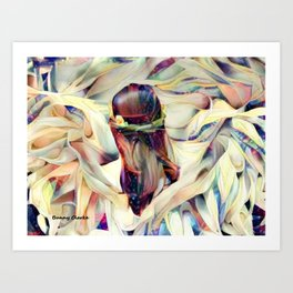 In the Arms of an Angel Art Print