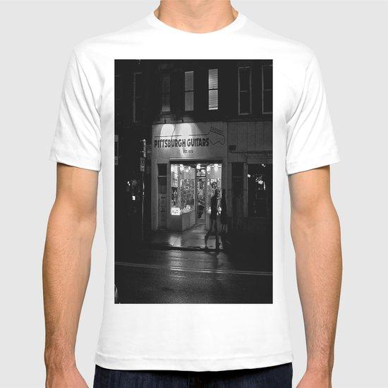Walking By Guitars T-shirt