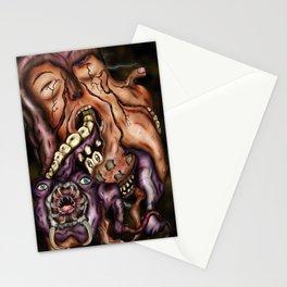 Parasitic Flesh Stationery Cards
