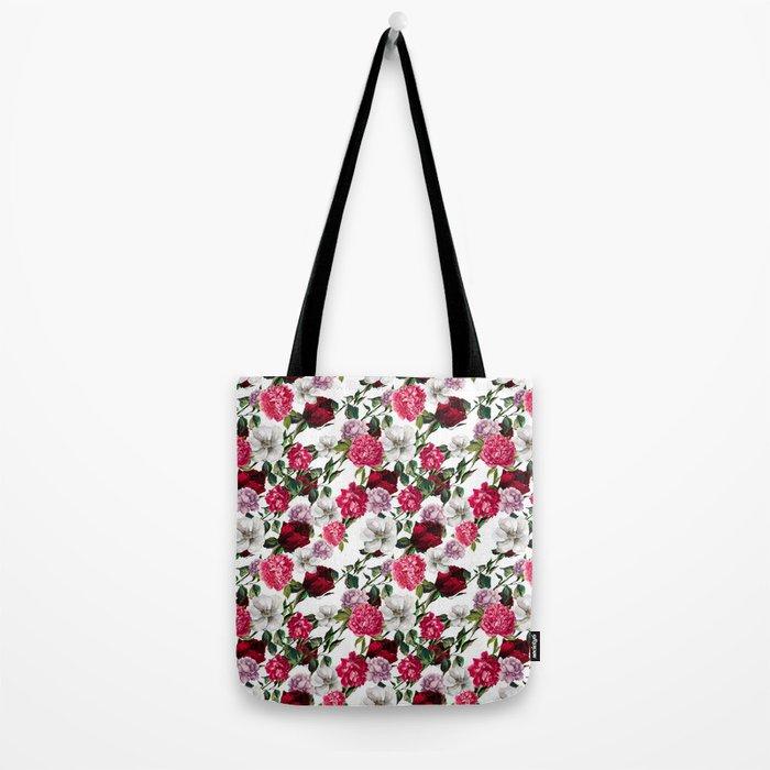Fashion Floral Pattern Tote Bag