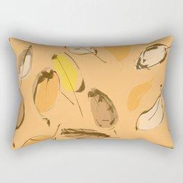 Arbutus leaves Rectangular Pillow