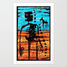 The Last Outlaw Art Print