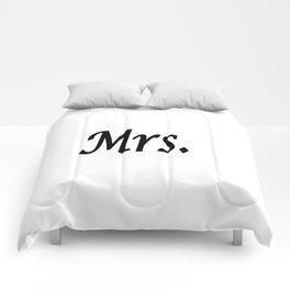 Mrs. Comforters
