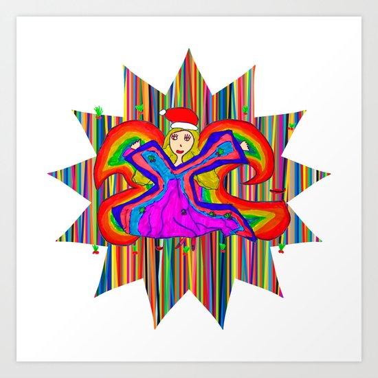 Star Fairy | Christmas Spirit Art Print