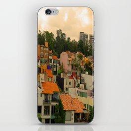 Naturaleza urbanizada iPhone Skin