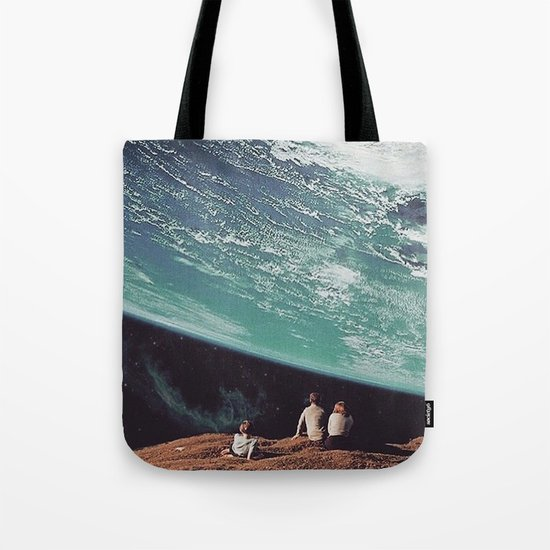 Astronomical Limits Collaboration with Thom Easton Tote Bag