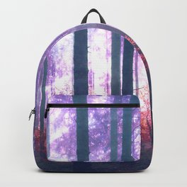 Woods in the outer space Backpack