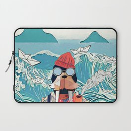 Walrus and the paper boats Laptop Sleeve