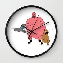 Pitbull Wall Clock