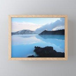 Blue Lagoon, Iceland Framed Mini Art Print