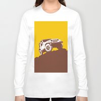 jeep Long Sleeve T-shirts featuring car jeep by Luciano de Paula Almeida