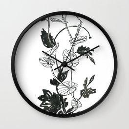 Aristolochia rotunda Wall Clock