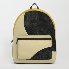 Black and Gold Circle 03 Backpack
