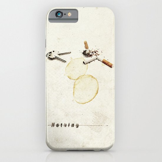 Nothing (...) | Collage iPhone & iPod Case