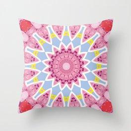 Kaleidoscope #1 Throw Pillow