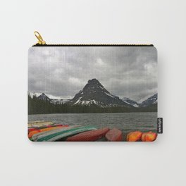 Two Medicine Lake With Sinopah Mountain Carry-All Pouch