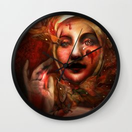 """The Blood Maja"" Wall Clock"