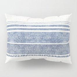 FRENCH LINEN CHAMBRAY TASSEL Pillow Sham
