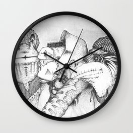 Three Gentlemen Wall Clock