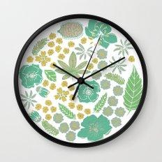 Floral Bloom Wall Clock