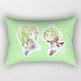 Nowi and Nah Rectangular Pillow