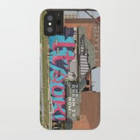 detroit iPhone & iPod Cases featuring Detroit by Dylan McPhee