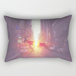 Urban Wilderness Rectangular Pillow