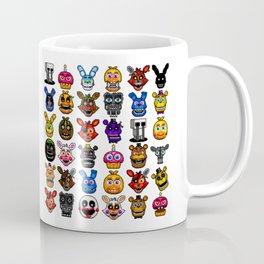NEW - FNAF Multiple Animatronics Coffee Mug
