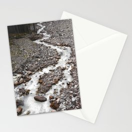 The birth of Nisqually river Stationery Cards