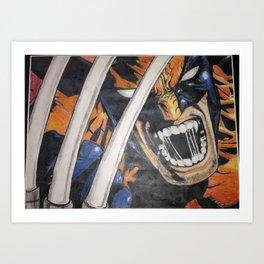 Claws Art Print