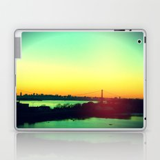sunset in NYC Laptop & iPad Skin