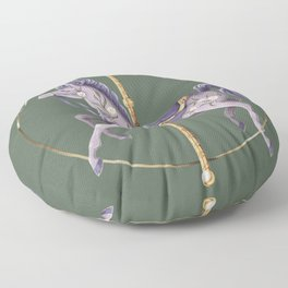 Merry Go Round Floor Pillow
