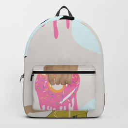 Pop Art Fashion Ad Harajuku Style Backpack