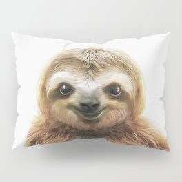 Young Sloth Pillow Sham