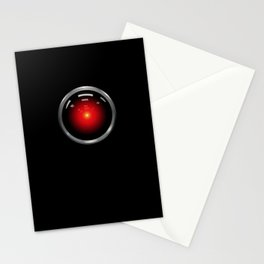 stanley kubrick, hal 9000 Stationery Cards