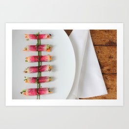 Raddish Wrap Kitchen Art Art Print