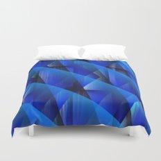 Blue Waves Duvet Cover