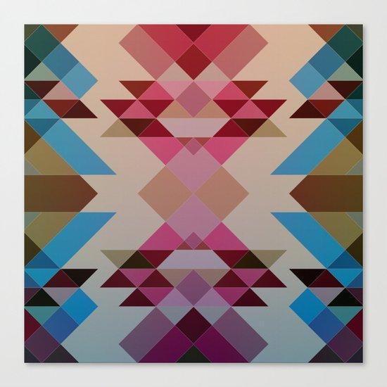 Abstract geometric I Canvas Print