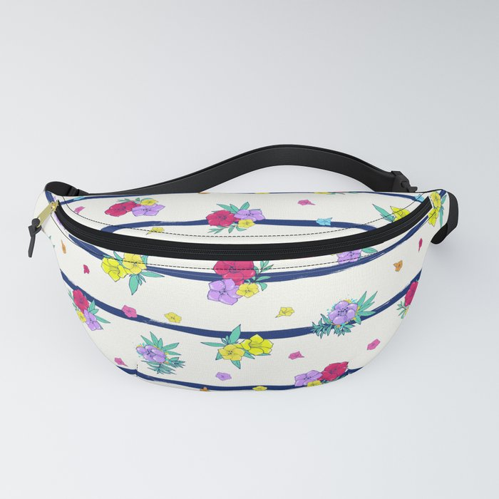 Floral background Fanny Pack