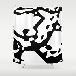 Culdesacs #abstract Shower Curtain
