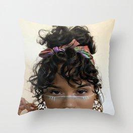 Kehlani 4 Throw Pillow